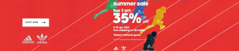 Adidas April Sale