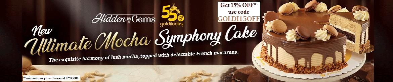 Goldilocks Anniv Cake