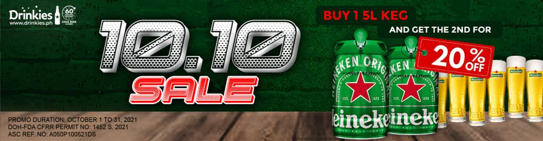 Drinkies 10.10 Sale