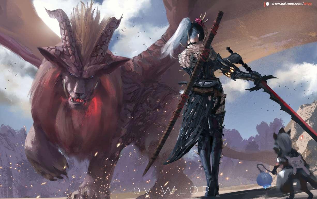 Monster Hunter World 4K-IdolTV-1