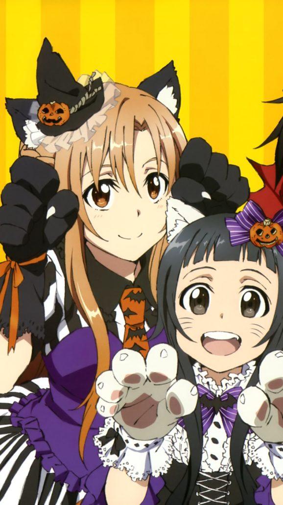 HÌnh nên iphone 8 Plus Anime - IdolTV 1