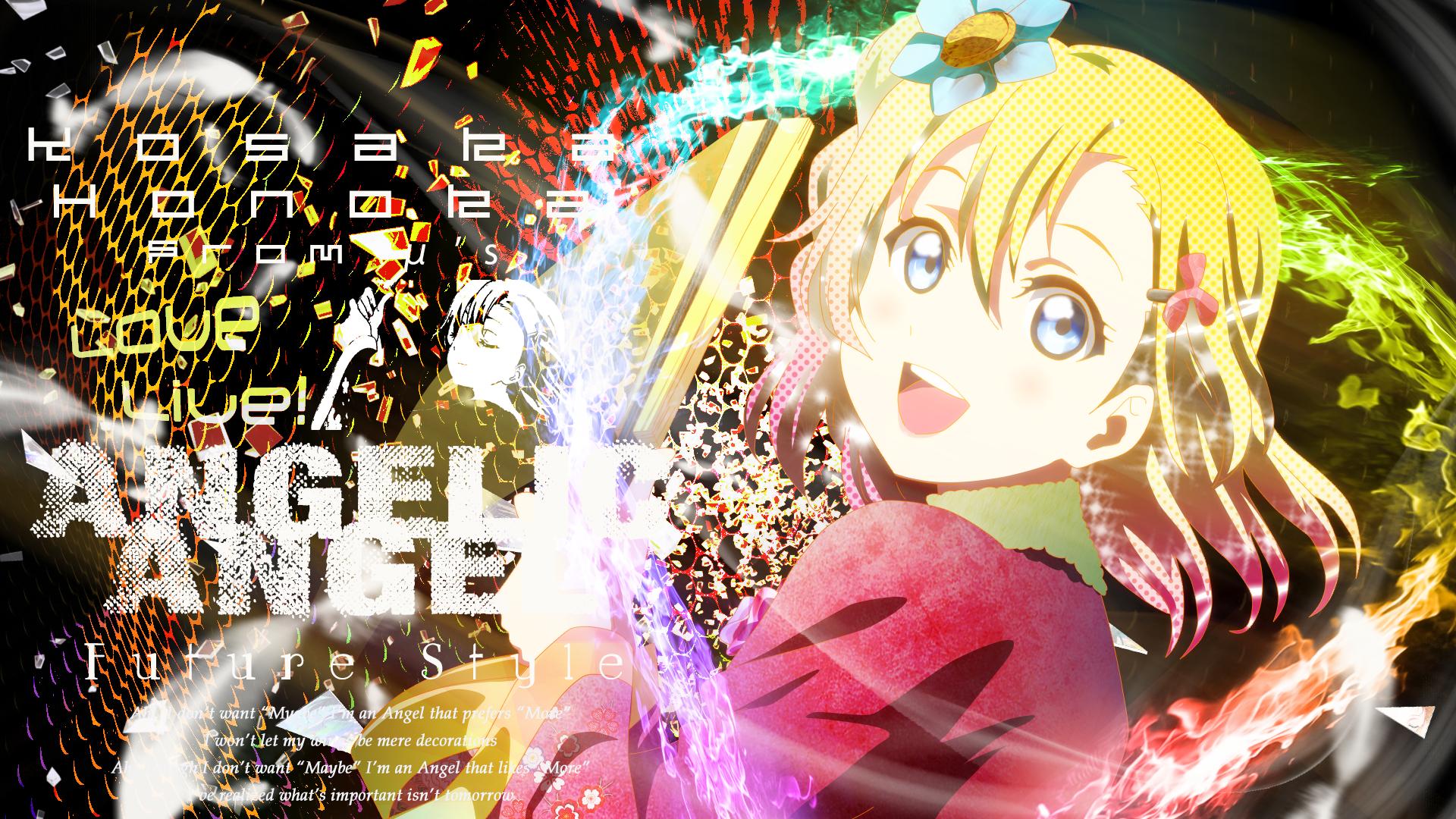 Hình nền máy tình anime love live Full HD IdolTV 2