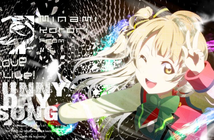 Hình nền máy tình anime love live Full HD IdolTV 3