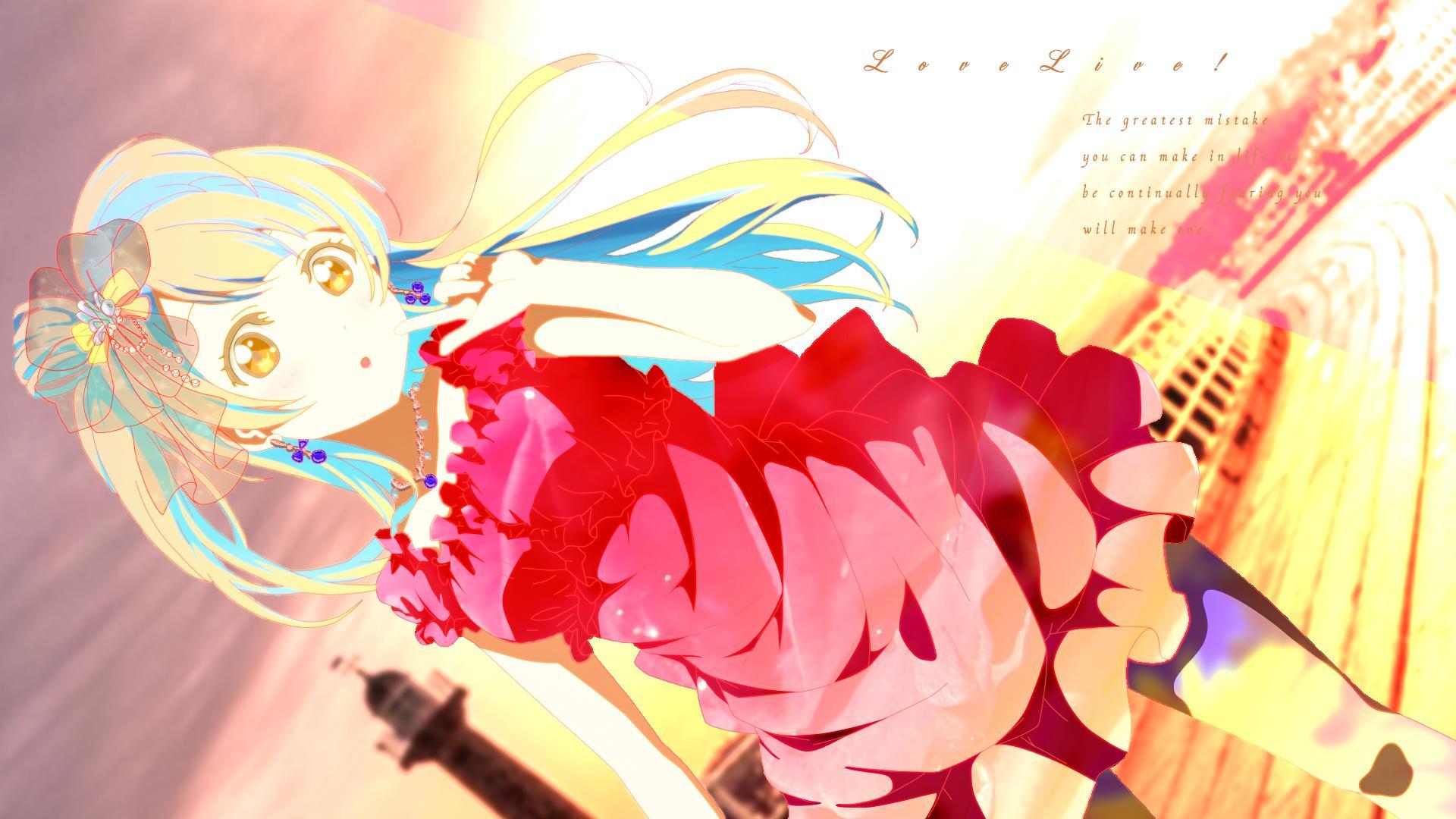 Hình nền máy tình anime love live Full HD IdolTV 11