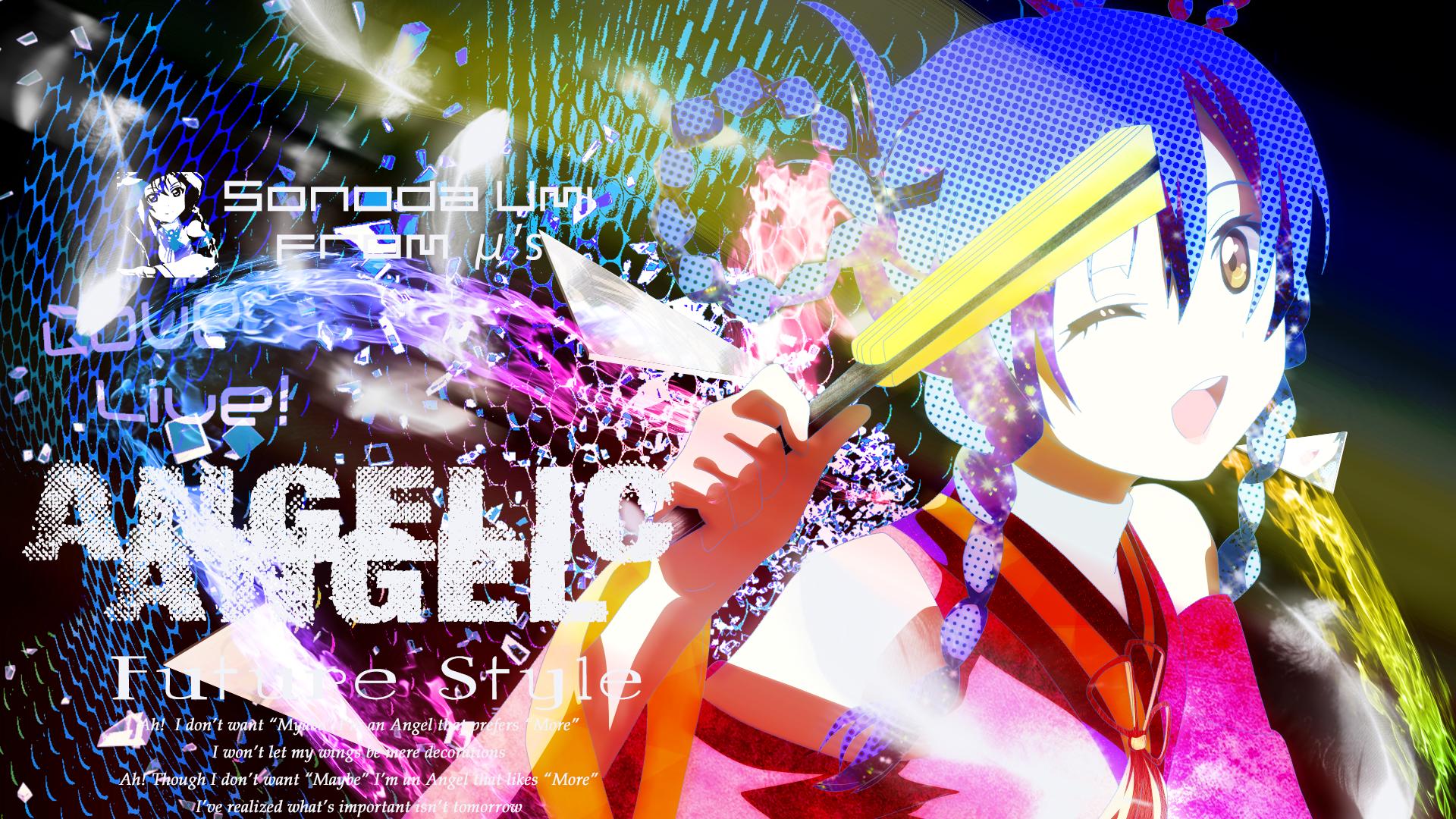 Hình nền máy tình anime love live Full HD IdolTV 19