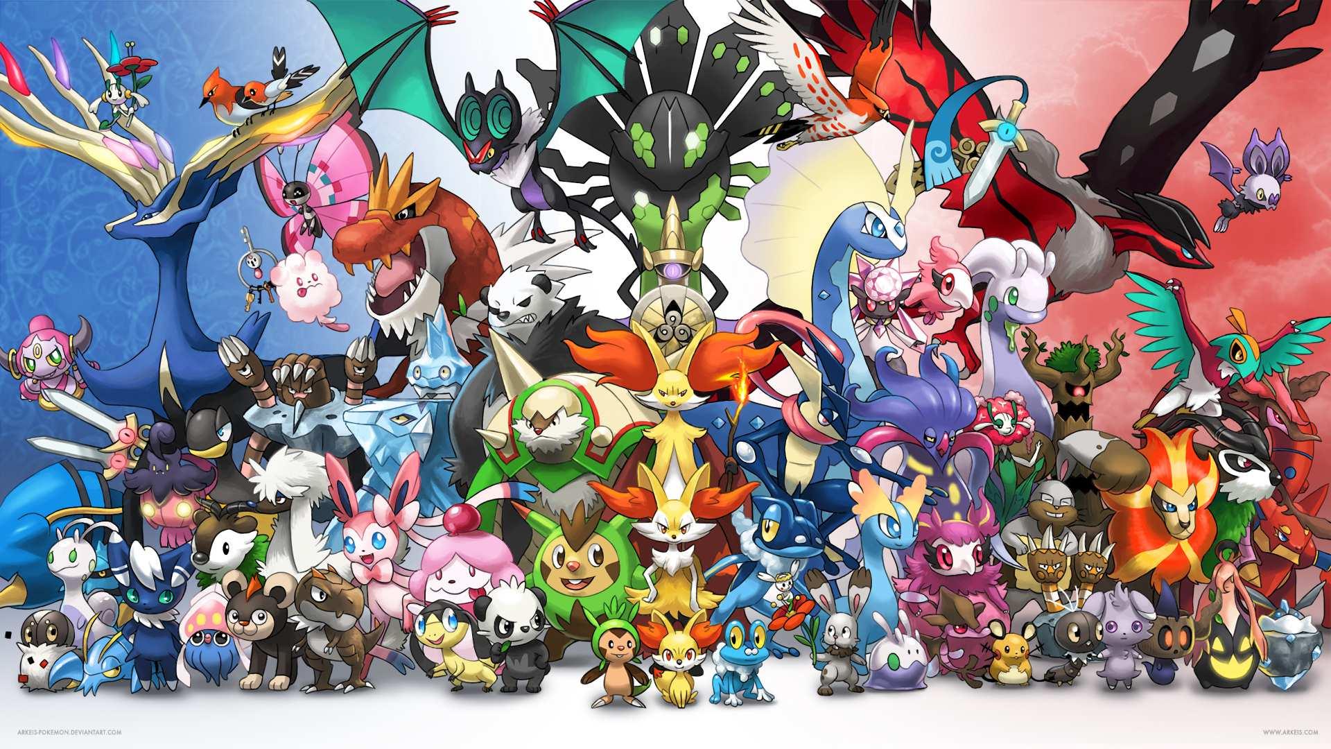 IDOLTV Hình nền máy tính Pokemon FULL HD - 2K 8