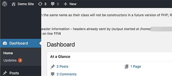 IDOLTV Một số lỗi thường gặp WordPress 34