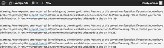IDOLTV Một số lỗi thường gặp WordPress 35