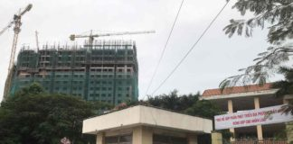 Tiến độ xây dựng dự án saigon home 2