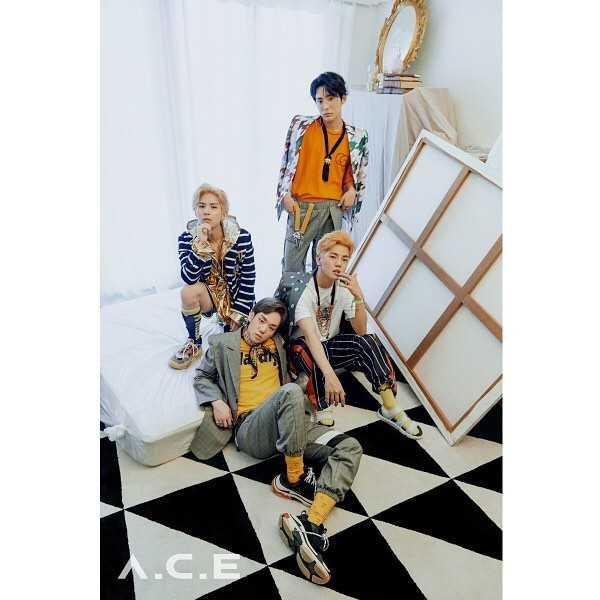 Idoltv Profile thông tin nhóm nhạc ACE k-pop