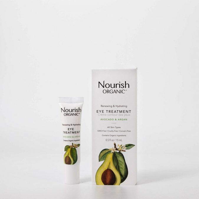Nourish Organic Eye Treatment Cream