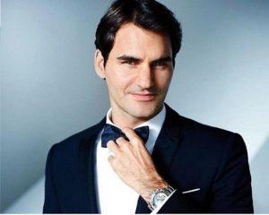 Roger Federer - Rolex