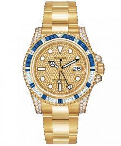 Rolex GMT Master II Gold