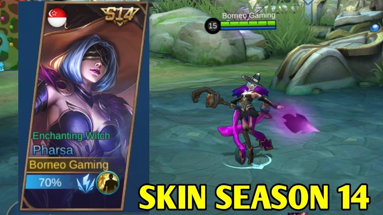 Benarkah Pharsa Jadi Ikon Skin Season 14 Mobile Legends