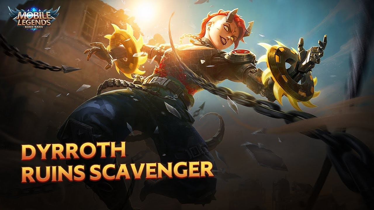Spotlight Skin Baru Hero Mobile Legends Ruins Scavenger