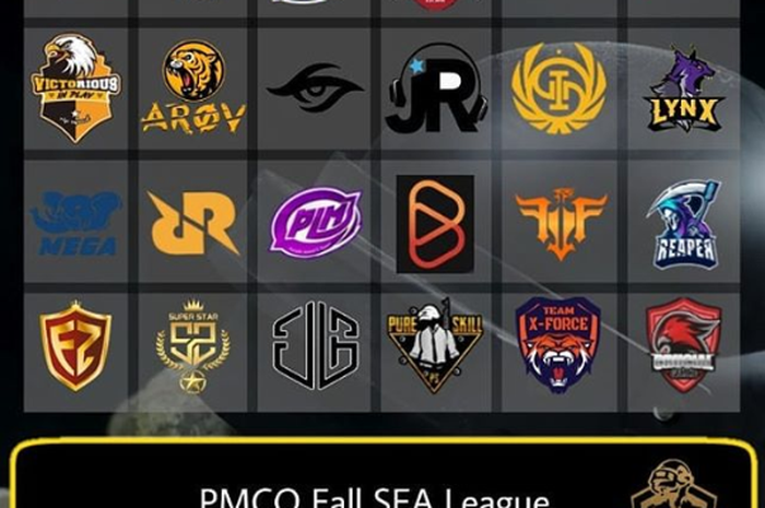 16 Team PMCO Fall Split SEA League 2019