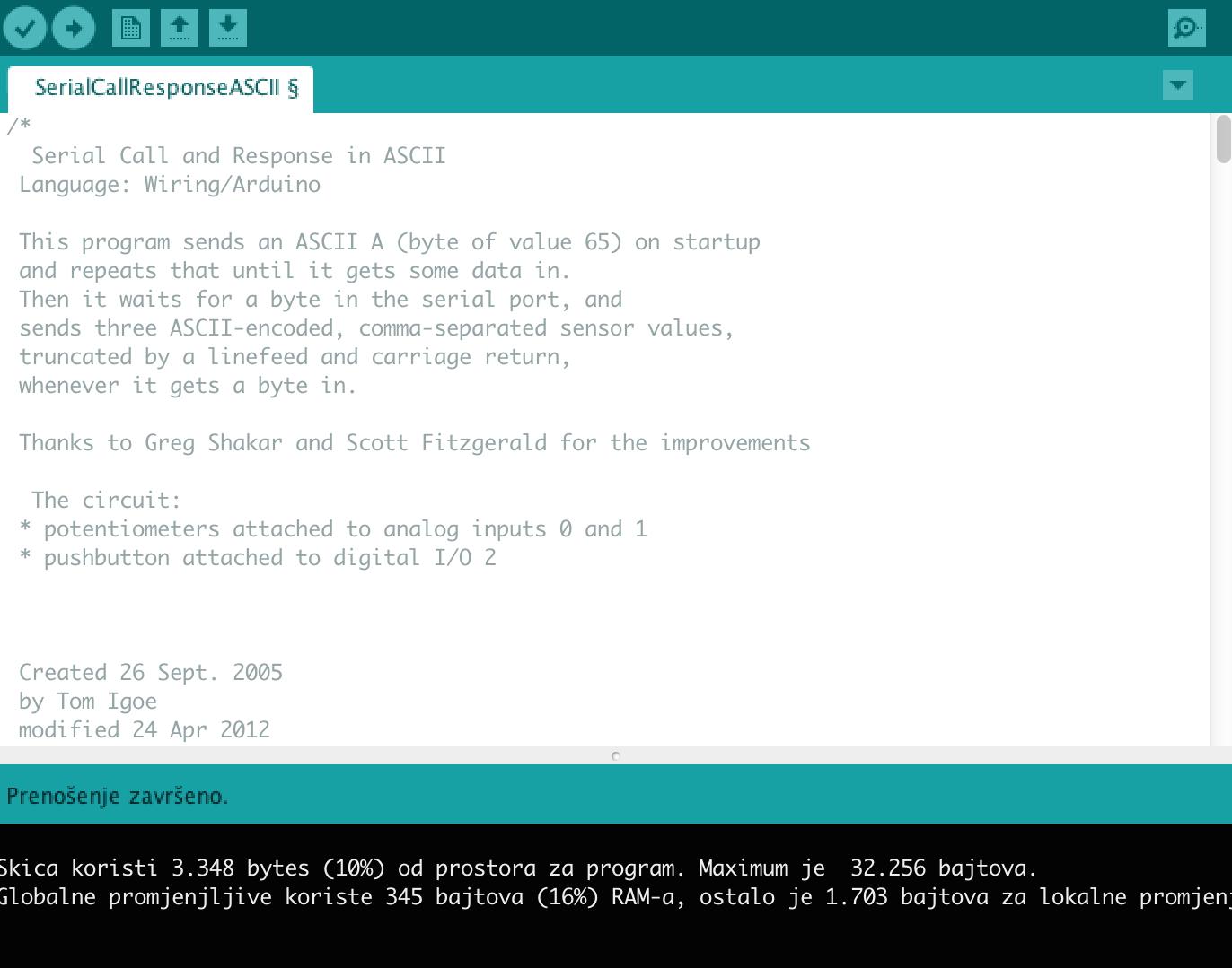 Arduino block programing