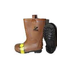 Picture of Sepatu Safety Boot Cougar Gumboot Brown 1916