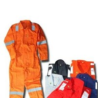 Jual Pakaian Safety Werpak Safe T Drill Reflective Coverall