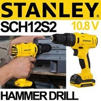 Jual Bor Cordless Hammer Stanley Sch12s2
