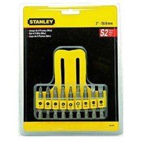 Jual Obeng Stanley Bit Set 9 Pcs 1-4 (6 Mm) - 68-070
