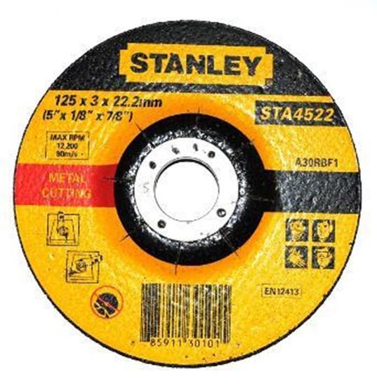 """Jual Batu Gerinda 5"""" Stanley 125 X 5 X 22.2 Mm"""