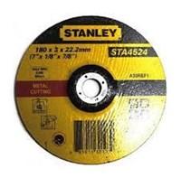 """Jual Batu Gerinda 7"""" Stanley 180 X 3 X 22.2 Mm"""