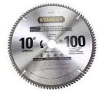 """Jual Mata Gergaji Circular 10"""" Stanley 120T"""