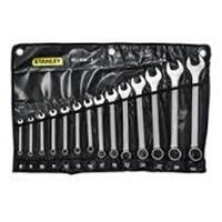 Jual Kunci Ring Pas Stanley Wrench Set Comb Sl 14 Pc Met