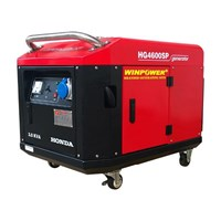 Jual Genset Honda 2000 Watt Winpower Hg3000sp