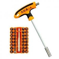 Jual Obeng Listrik Jakemy 41 In 1 T-Handle Screwdriver Set - Jm-6106