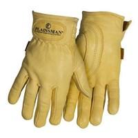 Jual Sarung Tangan Safety Gloves Plainsman Yellow Premium Cabretta Leather