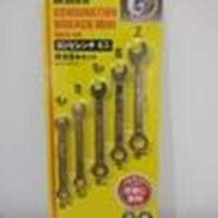 Jual Kunci Ring Daiso Japan Mini Hex 4 5 - 8 Mm Set 5 Pcs