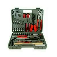 Jual Tool Kit Kunci Shok 100 Pecs Kotak Perkakas