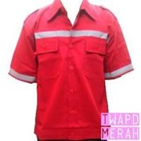 Jual Pakaian Safety Teamwork Scotlight - Merah