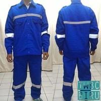 Jual Pakaian Safety Teamwork Twbc Setelan Biru - Wearpack