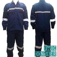 Jual Pakaian Safety Teamwork Wearpack Setelan Set - Dongker