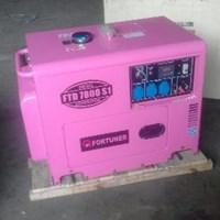 Jual Genset Bensin Genset Disel Fortuner Ftd 7800S 1 Ph 220 Volt Pink Full Kawat