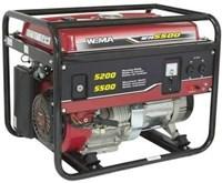 Jual Genset Bensin Weima Wm5500 5000 - 6000 Watt Bbm