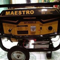 Jual Genset Bensin 4Tak 2500W Maestro