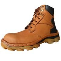 Jual Sepatu Safety Murah Kulit Asli Merk Dozzer Dr217t1