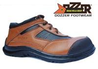 Jual Sepatu Safety Casual Kulit Asli Murah Merk Dozzer 502