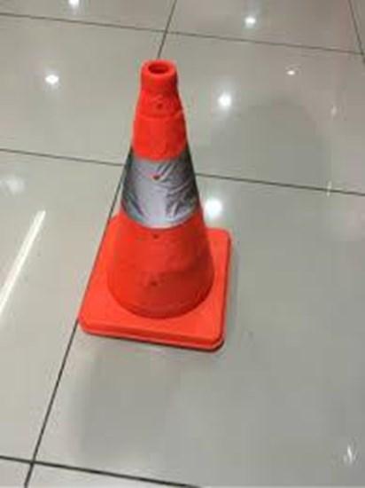 Jual Floor Sign Traffic Cone 40Cm Krisbow