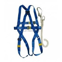 Jual Safety Harness With Lanyard Krisbow Kw1000438