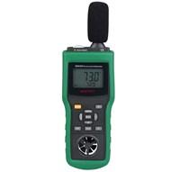 Jual Termometer Suhu Udara Environment Tester Mastech Ms6300 Suhu Kelembaban Cahaya Suara Angin