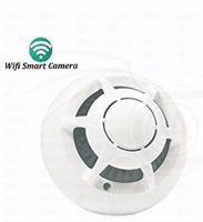 Jual Detektor Asap Ufo Wifi Camera ( Wifi Smoke Alarm Detector Network Ip Camera )
