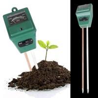 Jual Ph Meter Tanah Tester 3In1 Soil Water Moisture Light Meter Keasaman Cahaya