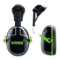 Pelindung Telinga UVEX Earmuff With Helmet Attachement Uvex K1H Black/Green