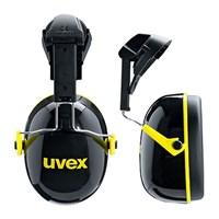Pelindung Telinga UVEX Earmuff With Helmet Attachement Uvex K2H Black/Yellow