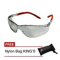 Kacamata Safety King Divisa Safety Glasses KY 2223 Clear